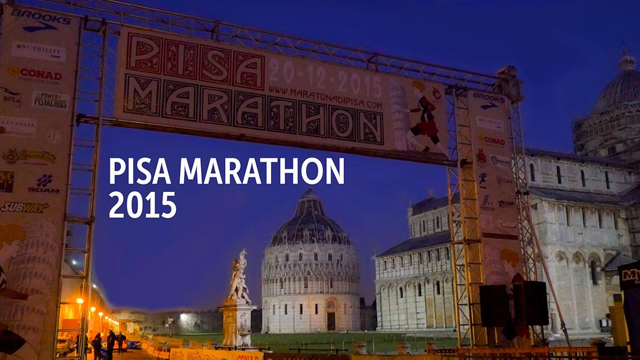 Pisa marathon 2015