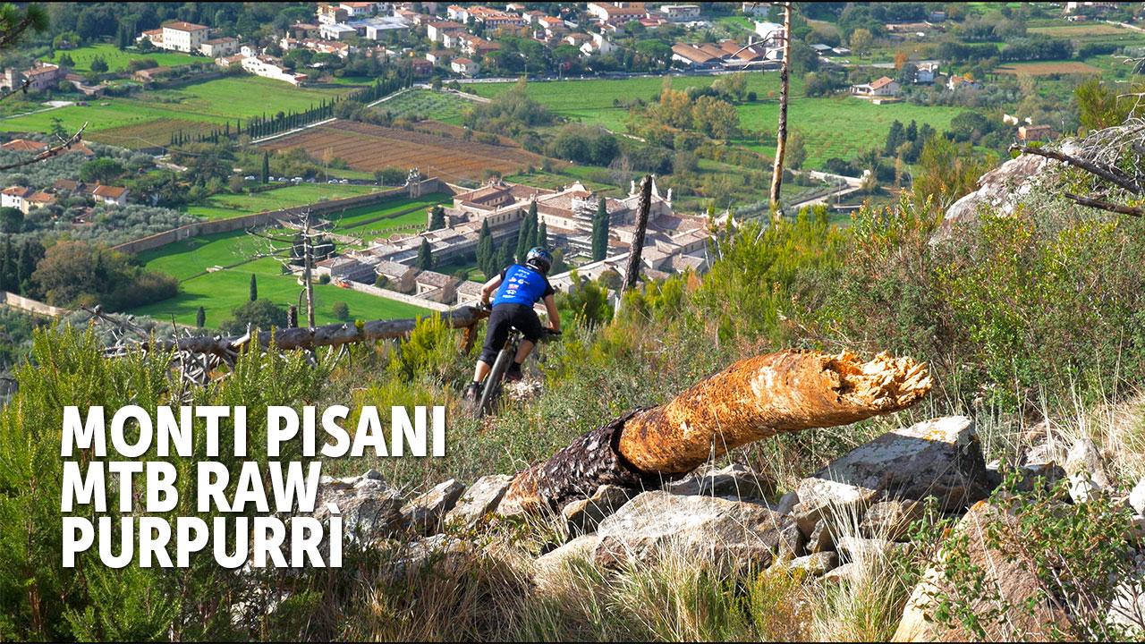 Monti Pisani MTB Raw - Purpurrì 4K